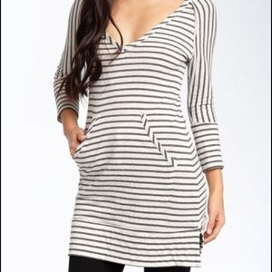 Oonagh by Nanette Lepore Striped Tunic Dress